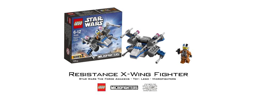 【レゴ】『スター・ウォーズ/フォースの覚醒』「マイクロファイター」75125 反乱軍Xウィング・ファイター